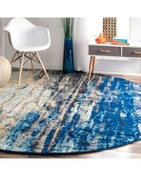 Rounds Rugs Shopping Deals On Clay Alder Home Hillsboro Modern Abstract