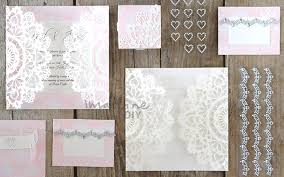 How To Make Your Own Wedding Invitations How To Make Arabesque Laser Cut Invitation Imagine Diy