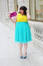 teal tulle gwynnie bee plus size style challenge teal tulle skirt