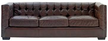 Leather Button Sofa Leather Button Back Sofa Radiovannes