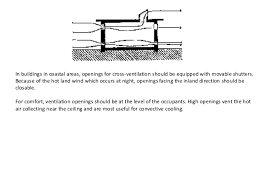 application of thermal climate