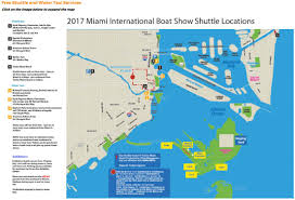 Miami Beach Hotels Map by Traffic Alert Progressive Miami International Boat Show Village