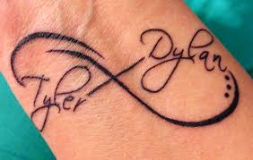 infinity with names this idea if i get a