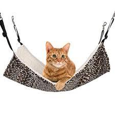 amazon com pecute cat kitten hanging hammock bed pad pet cat
