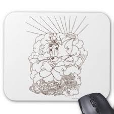tom jerry mouse pads zazzle