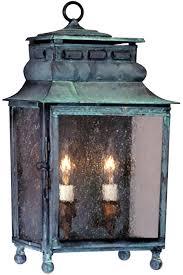 Copper Outdoor Light Fixtures Copper Lantern Exterior Lighting Lighting Ideas