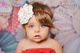 toddler headbands new white color toddler headband weddings