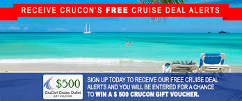 crucon cruise outlet every cruise on sale every day