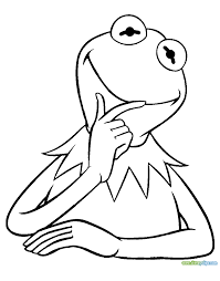 kermit the frog coloring pages pictures 725