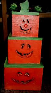 halloween primitive decor 153 best wooden pumpkins images on pinterest wooden pumpkins