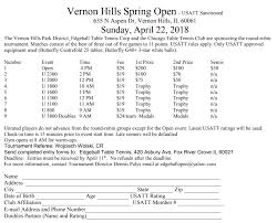 10 rules of table tennis vernon hills spring open