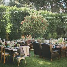 outside wedding ideas backyard wedding ideas brides
