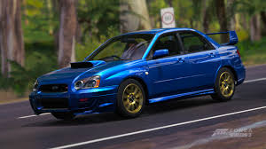 subaru station wagon wrx forza horizon 3 cars
