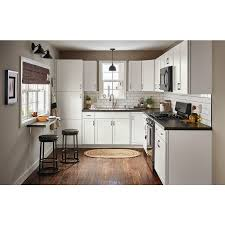 arcadia white kitchen cabinets lowes now arcadia 15 in w x 35 in h x 23 75 in d white door and drawer base stock cabinet