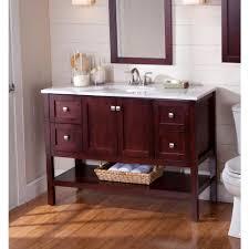 Guest Bathroom Vanity by St Paul Sydney 48 1 2 In Vanity In Dark Cherry With Stone