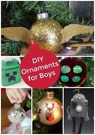 diy ornaments for boys vs the boys