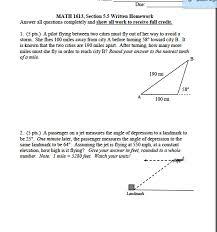 trigonometry archive november 20 2016 chegg com