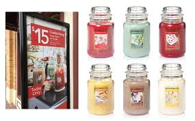 yankee large classic cookie collection jar candle votive