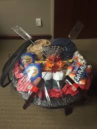 halloween gift baskets ideas fire pit basket for silent auction u2026 pinteres u2026