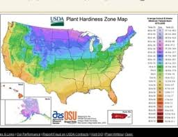 Planting Zone Map Plant Hardiness Zones And Climate Change The Washington Post