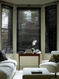 Made To Measure Venetian Blinds Wooden Black Gloss Wooden Venetian Blind Fully Made To Measure From