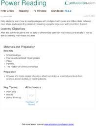 lesson plans for reading education com