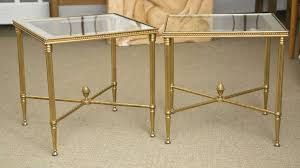 modern glass and metal end tables design boundless table ideas