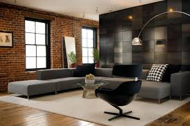 modern living room design ideas exposed brick all design idea