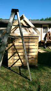 How To Put A Box Together Diy Pallet Dog House U2013 Chrissyadventures