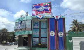 Belize Flag September Day In Corozal Town