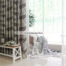 patterns are decorated on these western style curtains
