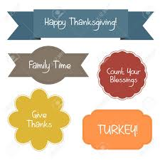 thanksgivings quotes five colorful shapes contain thanksgiving quotes royalty free