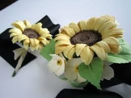 sunflower corsage sunflower corsage boutonniere rosy paper posies