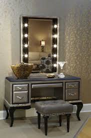 Small Vanity Mirror With Lights Furniture Lighted Vanity Table With Mirror And Bench Walmart