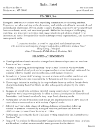 resume format for fresher maths teachers guide inspiring template educational resume format education download