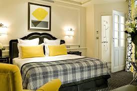 deco chambre jaune et gris chambre grise et jaune