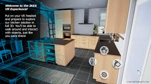 Ikea Kitchen 2016 Ikea Launches A Virtual Reality Kitchen The Fabric Of Thingsthe