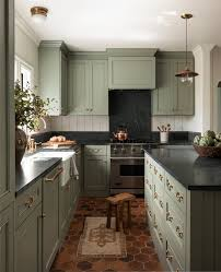 what color goes with green cabinets home tour heidi caillier s n28 tudor scout nimble
