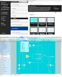 component electrical circuit design software drawing png fre