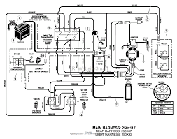 mtd riding mower wiring diagram lawn mower wiring diagram