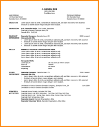Best Resume College Graduate by Resume For College Freshmen 20 Freshman Resume College Student