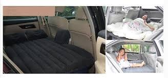 black universal suv car travel inflatable mattress inflatable car