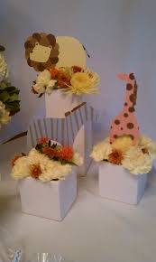 Centerpiece For Baby Shower by Hitched Planning Floral U2013 Animal Parade Baby Shower