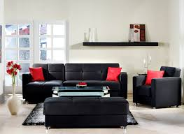 elegant sectional rainbow black