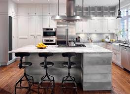 Kitchen Island Montreal Montreal Industrial Kitchen Island With Armoire De Cuisine Walnut