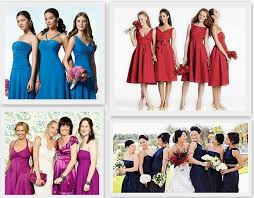 whiteazalea bridesmaid dresses the same color with various styles