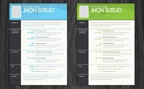 photoshop resume template download 35 free creative resume cv