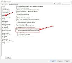 how to enable solidworks automatic sketch dimensions