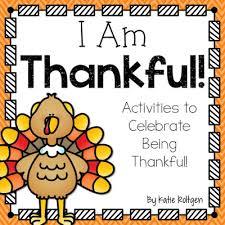 thankful activities for kindergarten plus a freebie resources