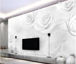 White Rose Furniture Online Get Cheap White Rose Flower Wallpaper Aliexpress Com